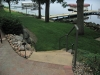 Natural-stone steps complete to the docks the design...family-friendly and picture-perfect!