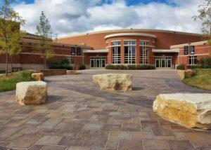 Winona Middle School Landscaping Design